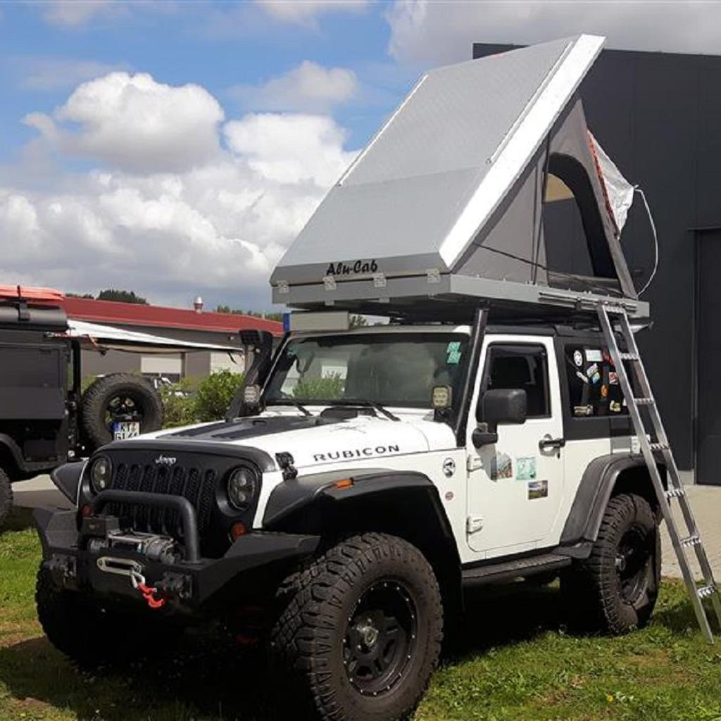 Alu-Cab Dachzelt Expedition 3 in silber