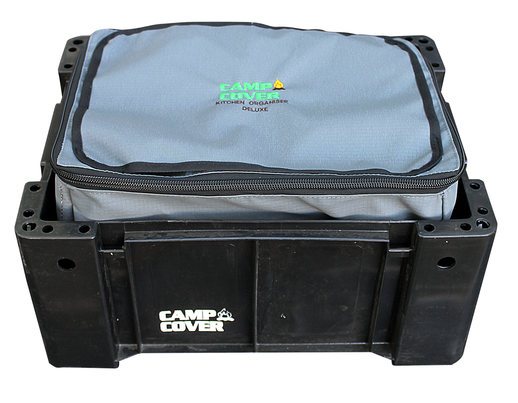 Camp Cover Ammo Box Organiser, charcoal