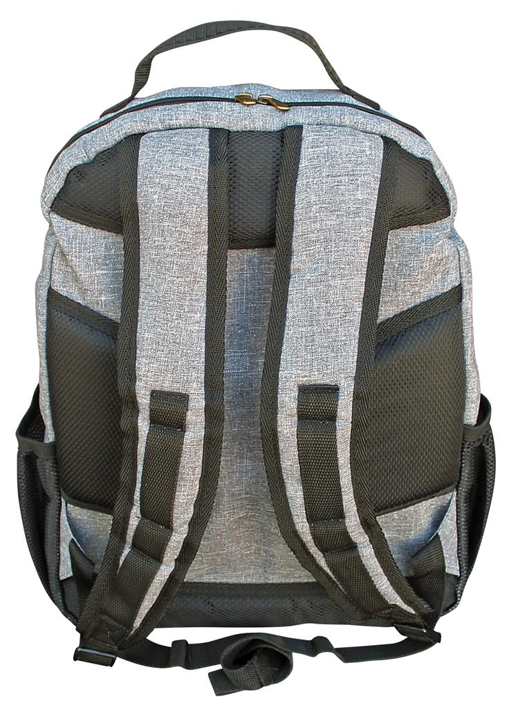 Camp Cover Laptop Rucksack Hellgrau
