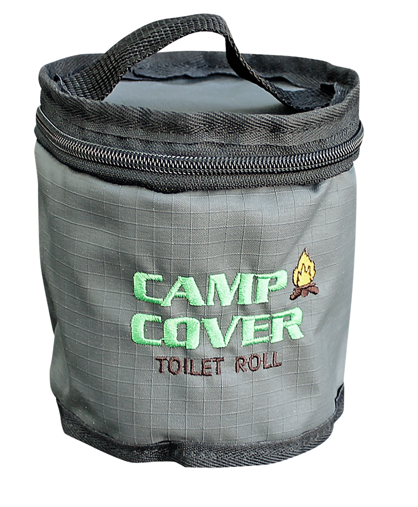 Camp Cover Toilet Roll Holder Single, Charcoal