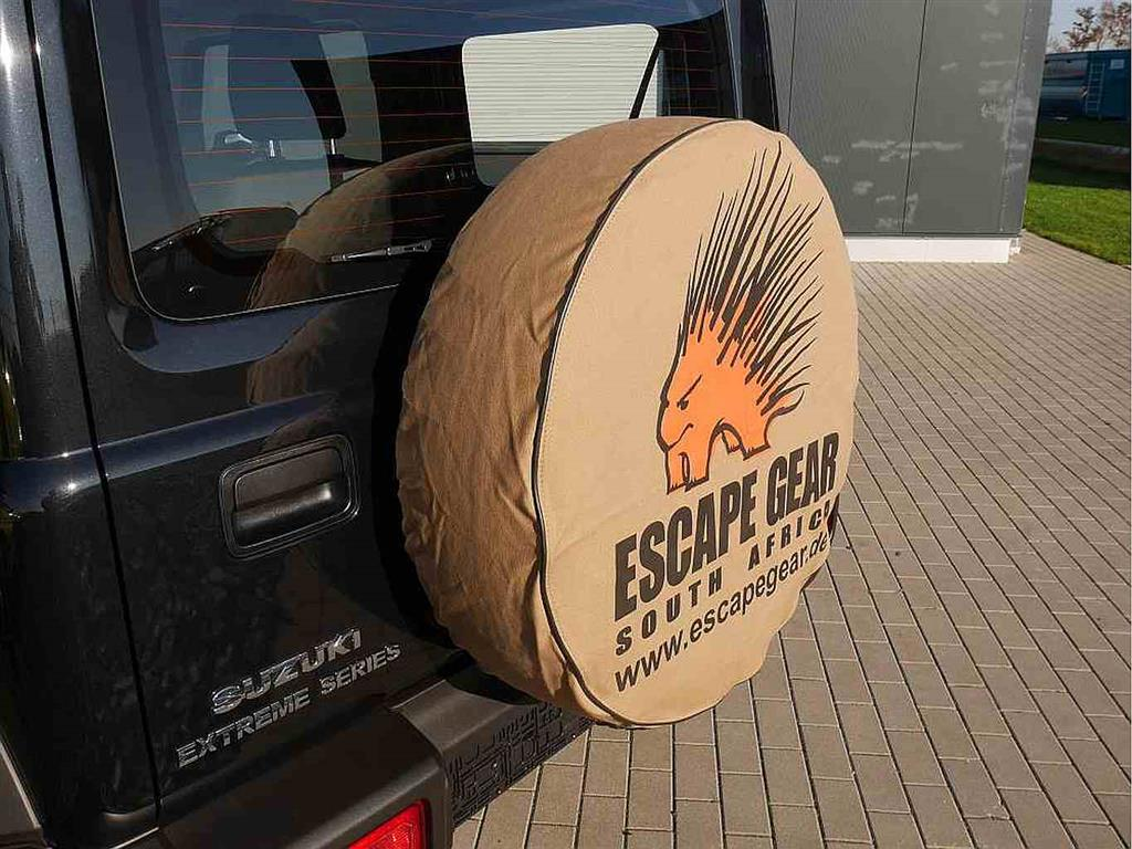 "Escape Gear Spare Wheel Cover 32"" Khaki without Bag"