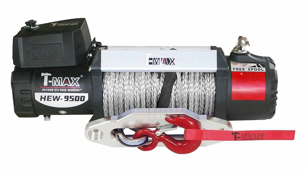 T-MAX X Power Series EW-9500, Syntetic Rope