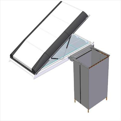 Alu-Cab Shower Cube Mounting Brackets - Icarus Roof Conversion (left/right-hand side)