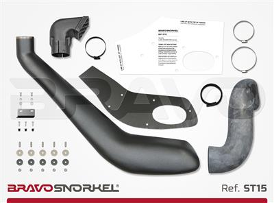 Bravo Snorkel Toyota Land Cruiser 150 ('09+), r, 89 mm