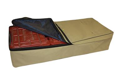 Camp Cover Ammo Cover for 3 Ammo-Boxe, Khaki