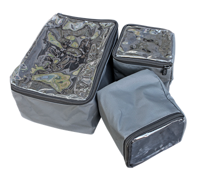 Camp Cover Ammo Pouch Set Half Quarters, Charcoal