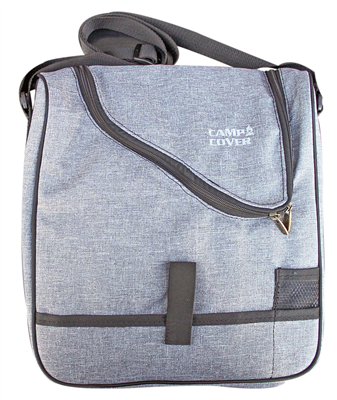 Camp Cover Picnic Cooler Cheese&Wine, light grey