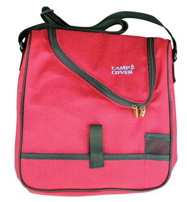 Camp Cover Picnic Cooler Cheese&Wine, red