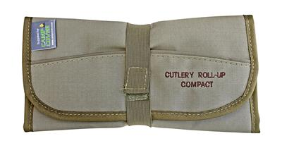 Camp Cover Cutlery Roll-Up Compact 4-Set (incl. Cutlery)