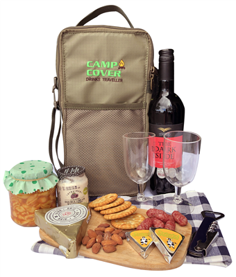 Camp Cover Traveller Bag for Drinks for camping, picnic and the car