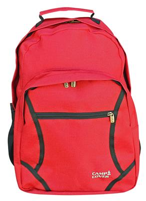 Camp Cover Unisex Rucksack, Rot