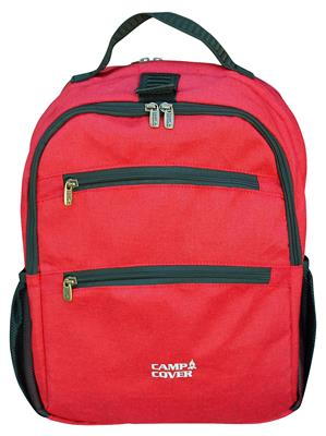 Camp Cover Laptop Rucksack Rot