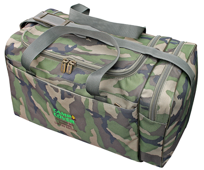 Camp Cover Reisetasche 100% Canvas Baumwolle 45L Camoflage