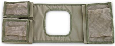 Camp Cover Gear Saddle Bag Standard Cavity, Khaki