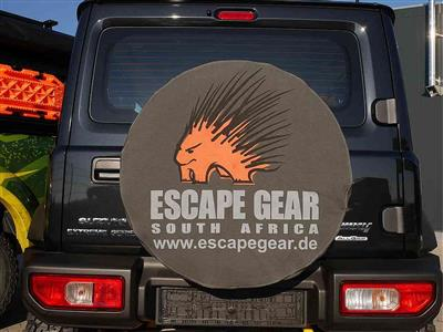 "Escape Gear Spare Wheel Cover 27"" Grey without Bag"