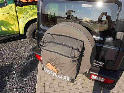 "Escape Gear Spare Wheel Cover 29"" Grey with Bag"