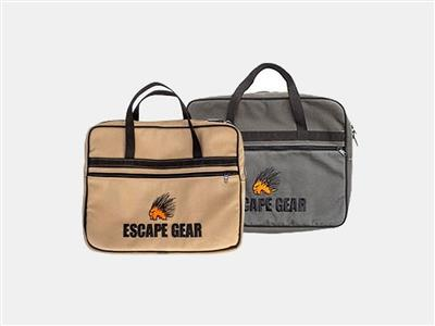 Escape Gear Notebooktasche Overland, Grau