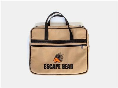 Escape Gear Notebook  Bag Khaki
