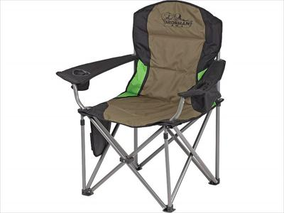 IronMan 4x4 Deluxe soft arm camp chair