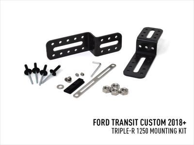 Lazer Lamps Halterungs-Kit  Ford Transit Custom (2018+) for Triple-R 1250