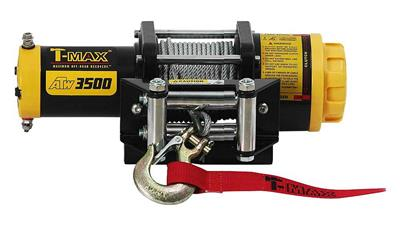 T-MAX ATW PRO 3500, 12V, Steel Rope