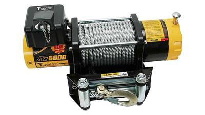 T-MAX ATW PRO 6000, 12V, Steel Rope