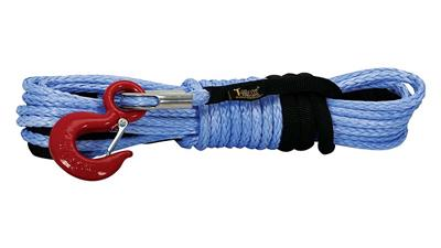 T-MAX Winch Rope Syntetic 6.000 Lbs, 7.5 mm x 15 m