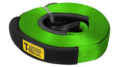 T-MAX Snatch Strap 26500-5, 12 to., 5 m, Green