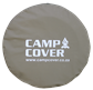 "Camp Cover Spare Wheel Cover with reflective print 30"" khaki"