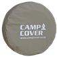 "Camp Cover Spare Wheel Cover with reflective print 28"" khaki"